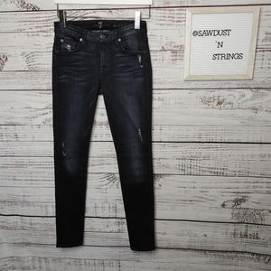 7 for All Mankind The Skinny jeans size 25
